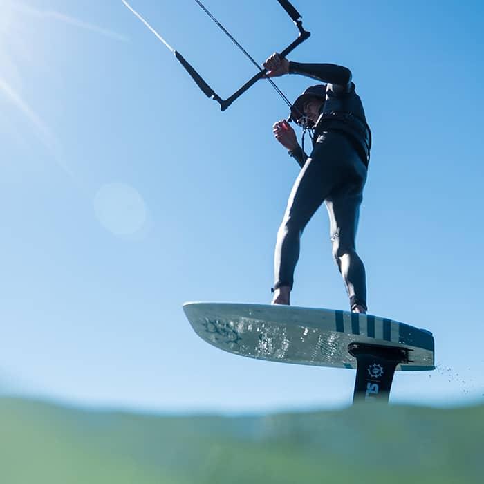 Foilen - Die tolle Kite-Alternative für wenig Wind
